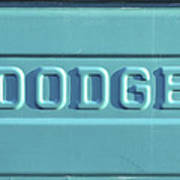 Dodge Truck Tailgate Poster