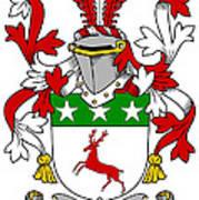 Doherty Coat Of Arms Irish Poster