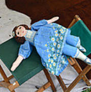 Doll And Camp Chairs 1800s Poster