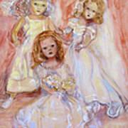 Doll Fancy Poster by Susan Hanlon