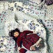 Doll On Bed Poster by Joana Kruse