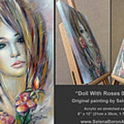 Doll With Roses 010111 Comp Poster