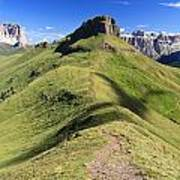Dolomites - Crepa Neigra Poster