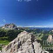 Dolomiti - Alta Val Gardena Poster