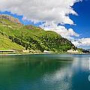 Dolomiti - Fedaia Lake Poster
