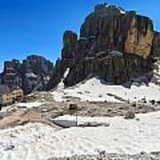 Dolomiti - Pisciadu Peak Poster