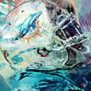 Dolphins Art Poster