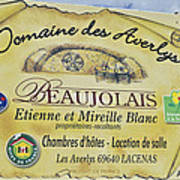 Domaine Des Averlys Poster