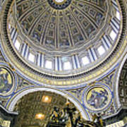 Dome Of St. Peter's Basilica Poster