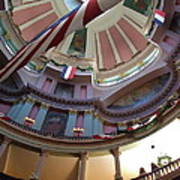Dome Of The Old Courthouse Poster