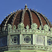Dome Top Of Carousel House Asbury Park Nj Poster