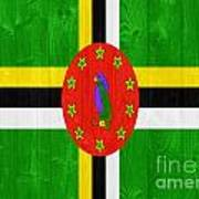 Dominica Flag Poster