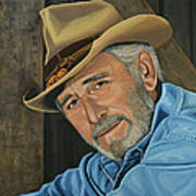 Don Williams Painting Poster