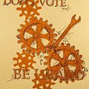 Don't Vote Poster by David Honaker