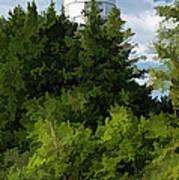 Door County Cana Island Vertical Panorama Poster