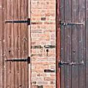 Door Hinges Poster by Tom Gowanlock