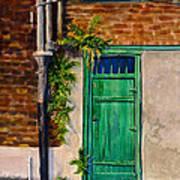 Door In New Orleans Poster