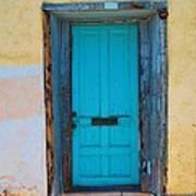 Door On Adobe House Poster