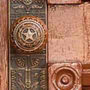 Door To Texas State Capital Poster