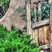 Door, Santuario De Chimayo Poster