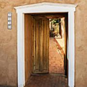 Doorway - Mesilla New Mexico Poster