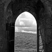 Doorway To Irish Landscape 1 Poster