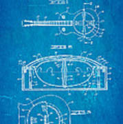 Dopyera Resonator Guitar Patent Art 1936 Blueprint Poster