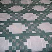 Double Irish Chain Quilt Poster