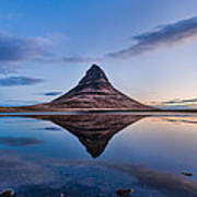 Double Kirkjufell Iceland Poster