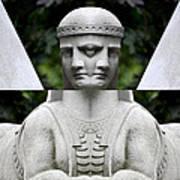 Double Sphinx Poster