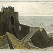 Dover Castle, From A Voyage Around Poster