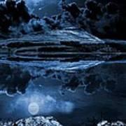 Dovestones Night Sky Poster