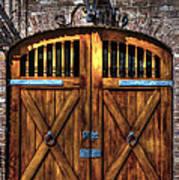 Downtown Charleston Sc Doors Poster