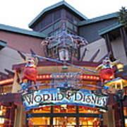 Downtown Disney Anaheim - 121210 Poster