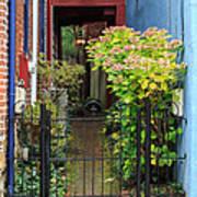 Downtown Garden Path Poster