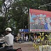Downtown In Hanoi Poster