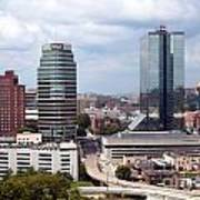 Downtown Knoxville Tennessee Skyline Poster