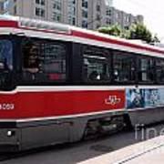 Downtown Light Rail Toronto Ontario Poster