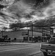 Downtown Sandpoint In Infrared 2 Poster