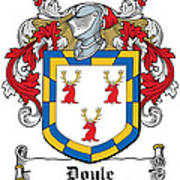 Doyle Coat Of Arms Wicklow Ireland Poster
