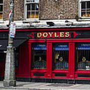 Doyles The Times We Live Inn - Dublin Ireland Poster