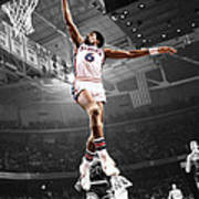 Dr J Poster by Brian Reaves