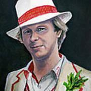 Dr Who #5 - Peter Davison Poster