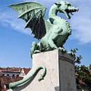 Dragon Bridge. Ljubljana. Poster
