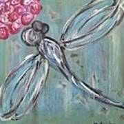 Dragonfly Baby Poster