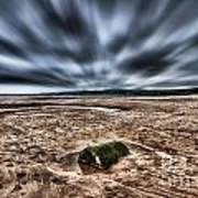 Drama At Freshwater West Poster