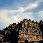 Dramatic Ancient Borobudur  Poster