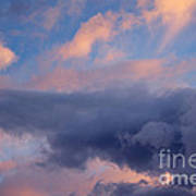 Dramatic Clouds Poster