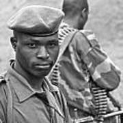 Drc Defense Force Soldier Poster