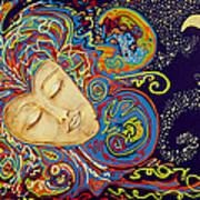 Dream Mask Poster by Nickie Bradley